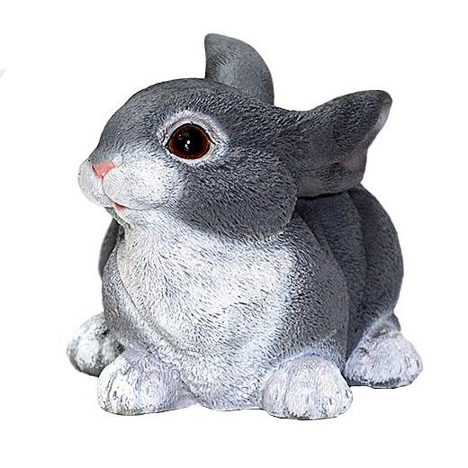 ДомФигурок Заяц серый 16х16х24 см - 1