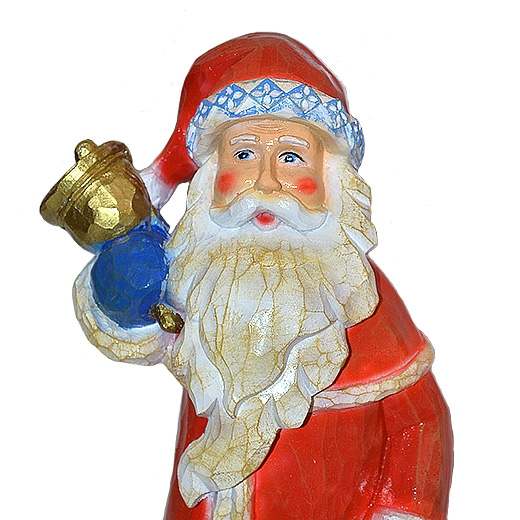 Дед Мороз с мешком - 2