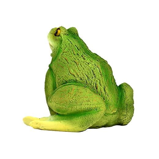 Садовая фигура ДомФигурок Лягушка 17х20х17 см - 1