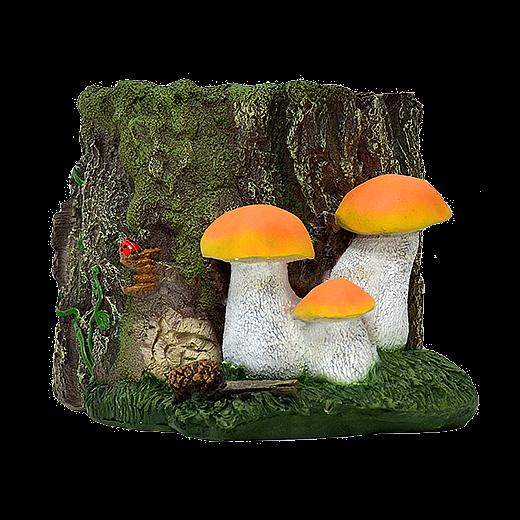 Кашпо с грибами - 1