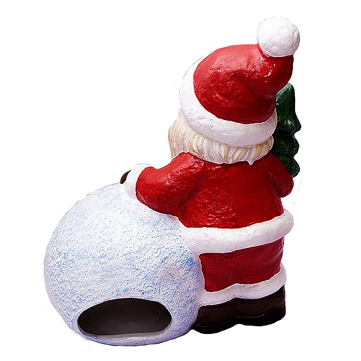 Дед Мороз со снежкой - 1