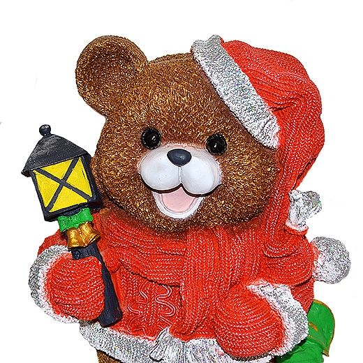 ДомФигурок Медвежонок с фонариком (М) 29х20х17 см - 2
