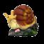 ДомФигурок Улитка-малютка на камне 2685 - 1